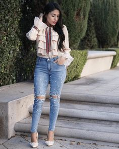 21 Looks: Spring Outfit Inspiration > CherryCherryBeauty.com [Source: midolcevita / Instagram]