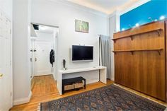 Studio Apartment Murphy Bed what $1,500 rents in nyc right now | studio apartment, apartments