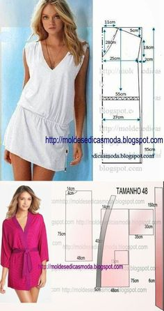 Exel Rondon's 085 media content and analytics Dress Tutorials, Sewing Tutorials, Blouse Patterns, Clothing Patterns, Sewing Clothes, Diy Clothes, Como Fazer Short, Sewing Summer Dresses, Costura Fashion