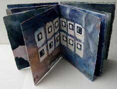 Life Journal, Book Journal, Art Journals, Paper Drawing, Paper Art, Concertina Book, Soul Collage, Sketch Books, Book Sculpture