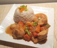 One Pot Pressure Cooker Chinese Orange Pepper Chicken