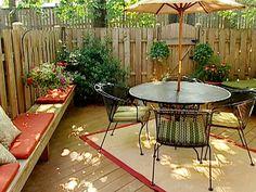 cozy outdoor haven