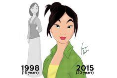 Als 16-Jährige kleidete sich die Chinesin Mulan eher konservativ. Heute, und mit ein bisschen Hilfe von Isaque Arêas, ist ihr gesamter Style lässiger geworden. Hübsch!