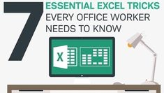 Excel Basics: Tricks Every Office Worker Needs to Know [Infographic]
