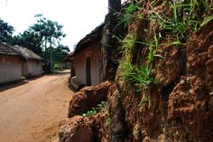 Red soiled village Photo Credit: Abhishek Mandal Baranti : A Sweet little place in nature's lap