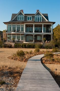 Traditional Exterior Photos Lake House Design, Pictures, Remodel, Decor and Ideas - page 4