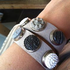 My new bracelet, looking forward to make some DIY chunks