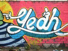 Graffitti word art