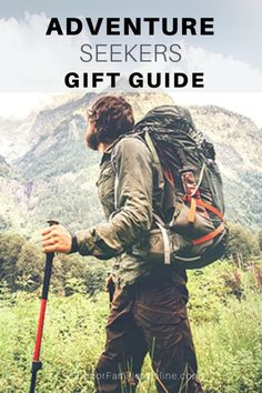 Here are the best outdoor gifts for hiking, camping, climbing, kayaking and exploring in wild parts unknown. Outdoor Gifts, Party Outdoor, Outdoor Gear, Get Outdoors, Parts Unknown, Travel Gifts, Adventure Travel, Family Adventure, Outdoor Travel