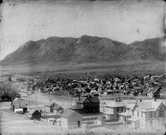 1890 - View of Colorado Springs