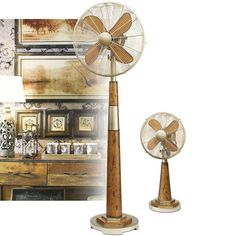 Stylish Art Table Fan Not Only Cool Your Home,but Will Be Great Art And
