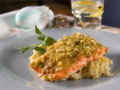 Pestolohi Pesto Salmon, 20 Min, Risotto, I Love Food, Lorem Ipsum, Macaroni And Cheese, Side Dishes, Dinner, Eat
