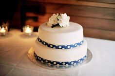 wedding cake - simple and funny
