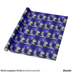 Black Longspine Urchin Gift Wrapping Paper