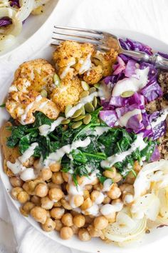 Cauliflower and Quinoa Power Bowls