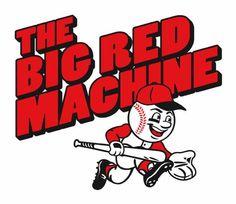 big red machine - 1970's Red's baseball.