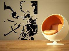 Amazon.com: Wall Room Decor Art Vinyl Sticker Mural Decal Afro Samurai Anime Manga Cartoon Poster Tv Show Movie Series Large AS1073: Baby