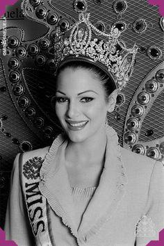 Eva Ekvall. Miss Apure 2000. Miss Venezuela 2000  Ganó el concurso con tan solo18 años de edad.