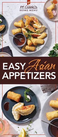 Dinner just got easier with P.F. Chang's Home Menu appetizers. By serving apps for happy hour, everyone can have a little taste of what they want. It's a quick and easy solution for any weeknight meal.