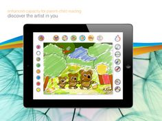 """Paint from """"The Three Little Bears"""" Interactive Stories, Ugly Duckling, Three Little, Kids Reading, Kids And Parenting, Being Ugly, Itunes, Colours, App"""