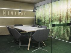 Nordic style meeting room / Sistem Interior Architects