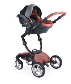 Check out the new Sicilian Red xari complete with Sicilian Red mima iZi Go 0+ car seat by BeSafe... #mimakids