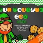 Here are some fun activities for your students to play to celebrate St. Patrick's Day!  Here's what's included: -ABC Order -Make Words -Bingo -Roll...