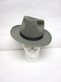 Gray Fedora Hat Adam Mens Trilby by sweetie2sweetie on Etsy