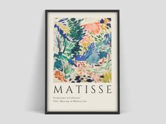 Henri Matisse Flowers Cut outs art Exhibition Poster of the highest quality. Art print on eco-friendly FSC paper. Henri Matisse, Matisse Kunst, Matisse Art, Alexander Calder, Nature Prints, Art Prints, Rothko Art, Art Exhibition Posters, Cut Out Art