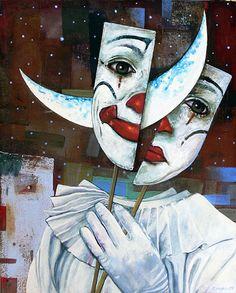 Mask ~ by Marek Brzozowski, Polish Artist