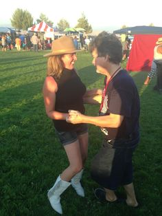 Will and I dancing at the Freedom Fest 2013
