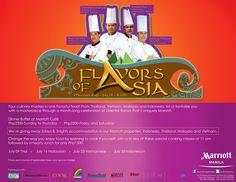Flavors of Asia at Marriott Manila