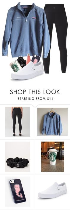 """hey should i get these shoes??"" by lorla3407 on Polyvore featuring lululemon and Vans"