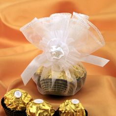 Ferrero rocher chocolate favors