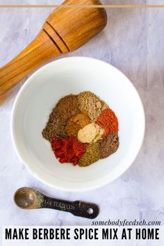 A wonderfully fragrant Ethiopian and Eritrean spice mix that is commonly used in East African dishes. Berbere Spice Mix is a wonderful addition to any lentil, bean, chicken or meaty stew recipes! Whilst you can buy it in many larger supermarkets or international food shops, you can make your own with spices that you're likely to have in your spice cupboard! #berbere #africanspice #spiceblends Home Recipes, Meat Recipes, Vegetarian Recipes, Spice Blends, Spice Mixes, Berbere Spice, African Spices, Ginger And Cinnamon, Eritrean