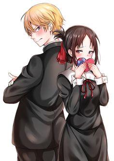 Anime Couples Kaguya-sama Love Is War Shinomiya Kaguya and Shirogane Miyuki Manga Anime, Oc Manga, Anime Amor, Anime Lindo, Fanarts Anime, Anime Films, Otaku Anime, Anime Characters, Best Anime Couples