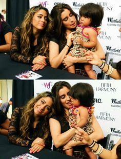 Alren // Ally Brooke Hernandez and Lauren Jauregui + kid