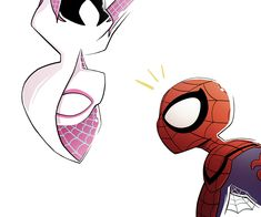 Marvel, spider-woman, and spiderman εικόνα Marvel Art, Marvel Heroes, Marvel Comics, Spider Art, Spider Verse, Spiderman And Spider Gwen, Gwen Spider, Amazing Spiderman, Spiderman Drawing