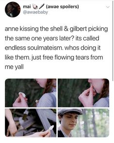Netflix, Gilbert And Anne, Memes, Gilbert Blythe, Anne Shirley, Fandoms, Kindred Spirits, The Infernal Devices, Pride And Prejudice