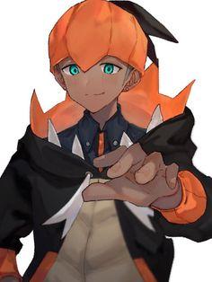 List Of Characters, Japanese Characters, Pokemon People, Pokemon Sun, Pokemon Fan Art, Pokemon Games, Hot Anime Guys, All Anime, Cartoon