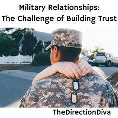 In this audio interview Judy Davis talks about military relationships and the challenge of building trust!