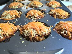 Mini Mexican Meatloaves @ChocolateSlopes
