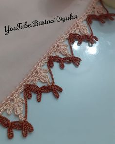 Beginner Crochet Projects, Crochet For Beginners, Bead Jewellery, Jewelry, Crochet Lace, Lily, Beads, Craft Ideas, Crochet Stitches