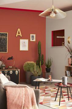 Burgundy Bedroom, Burgundy Walls, Burgundy Living Room, Living Room Red, Bedroom Red, Interior Design Living Room, Living Room Decor, Burgundy Paint, Bedroom Small