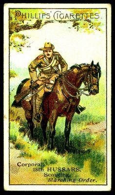 Cigarette Card - 18th Hussars