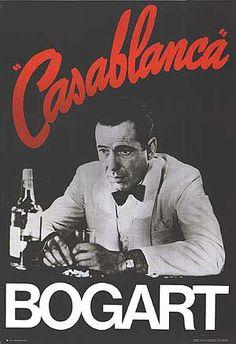 Casablanca starring Ingrid Bergman and Humphrey Bogart.