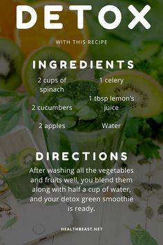 Save this recipe to detox yourself every week! Fat To Fit, Lose Fat, Lose Weight, Weight Loss, Apple Water, Cucumber Juice, Detox Recipes, Health Fitness, Wellness