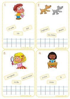 Bulk Phrases - The CP Class Domrod, Education Learning To Write, Teaching Reading, Learning Activities, Kids Learning, Read In French, French Kids, Teaching French, French Worksheets, Special Education
