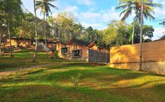 Public library from rammed earth in Sri Lanka http://terra-award.org/project/laureate-cultural-public-facilities-ambepussa-community-library/