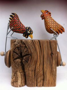Large chunky chickens by OPISHOP on Etsy, Jane Ryan